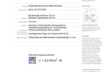 Certificat Deckblatt